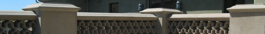 101 Cast Stone Products - custom columns, balustrades, pool coping, steps