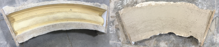 cast stone manufacturing process at 101 Cast Stone